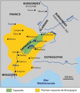 Territoire des Burgondes